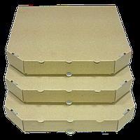 Коробка для пиццы 33 см. (бурая)