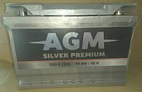 Аккумулятор автомобильный AGM 6CT-74 АзЕ Silver Premium
