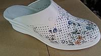 Сабо женские кожаные рабочая обувь оптом, фото 1