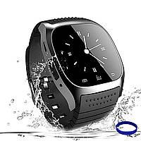Умные часы Smart Watch многофункциональные влагостойкие черные