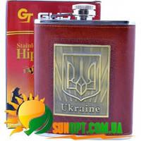 Фляга обтянута кожей Украина TP-16