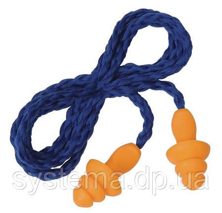 3M™ 1271 Многоразовые формованные противошумные вкладыши в футляре со шнуром (беруши), фото 2