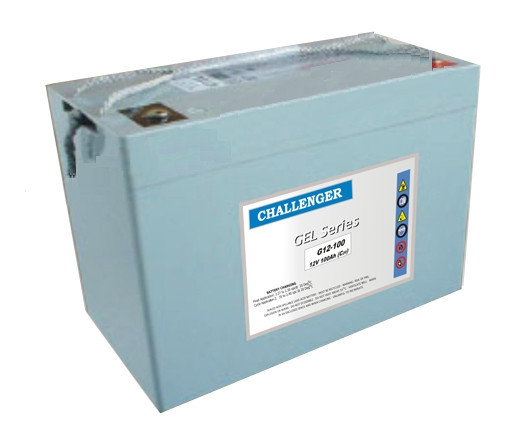 Аккумулятор гелевый Challenger G12-55T 12V 55AH, (AGM) для ИБП
