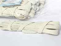 Резинка бельевая, плетёная. 5 метров, 10 мотков в уп. ХБ резинка, тесьма., фото 1