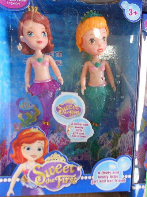 Кукла русалки 2 в наборе