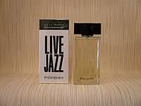 Yves Saint Laurent - Live Jazz (1998) - Туалетная вода 100 мл - Редкий аромат, снят с производства