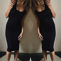 Майка-платье-туника, базовая вещь. Разные цвета и размеры., фото 1
