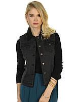 Жилетка джинсовая утепленная MINIMUM-Novata Black размер L