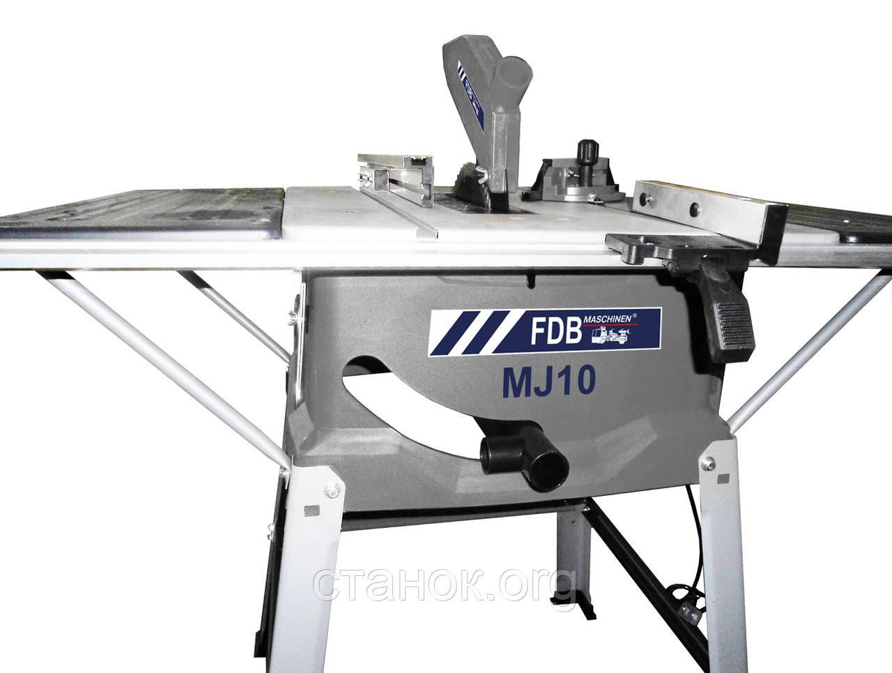 FDB Maschinen MJ 10 круглопильный станок по дереву циркулярный циркулярка пила