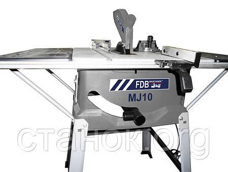 FDB Maschinen MJ 10 круглопильный станок по дереву циркулярный циркулярка пила, фото 2