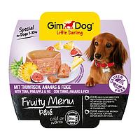 GimDog LD FRUITY MENU 100г - Паштет с тунцом, инжиром и ананасом - консервы для собак