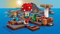 Детский конструктор аналог лего.Детский конструктор пластмассовый Minecraft.