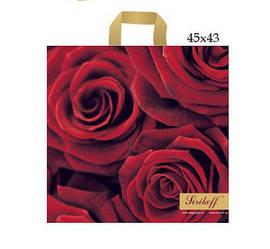 Пакет Роза 45х43, 20шт. \ бл., 50шт. \ Меш.