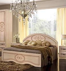 """Ліжко 140 з низьким ізножьем """"Василина"""" від Майстер Форм 140*200"""