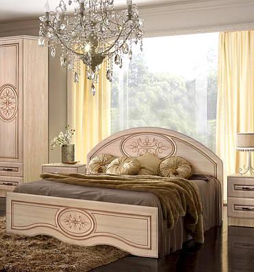 Кровать 160 с нзким изножьем Василиса Мастер Форм