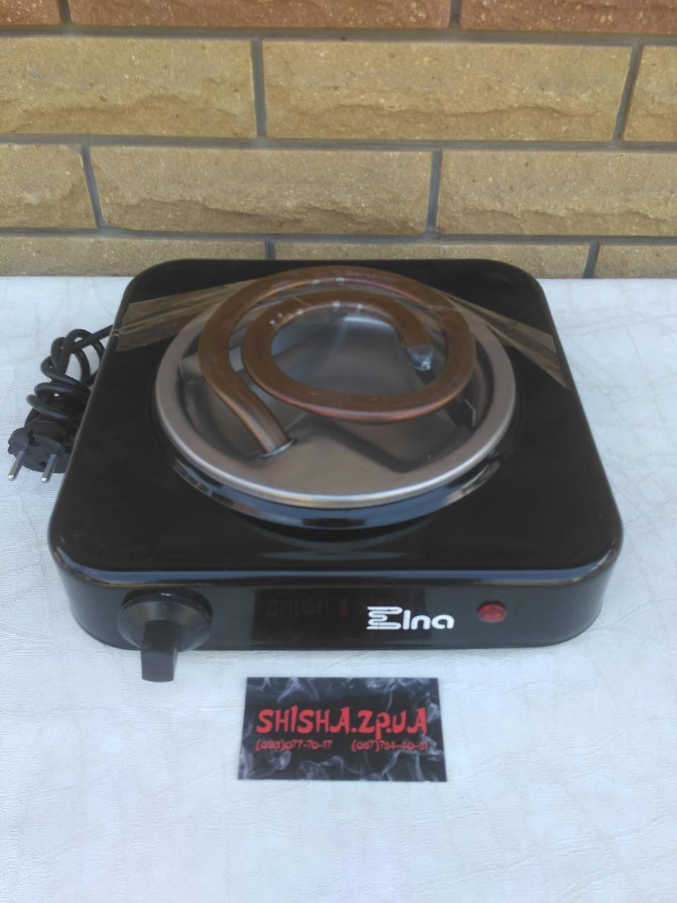 Печка-плитка электрическая для розжига углей Элна (1000W)