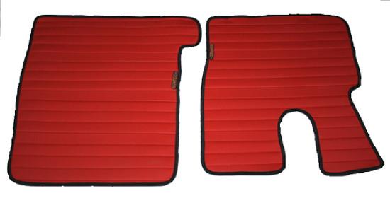 Килимки Daf XF 106 червоні для вантажівок(6834)