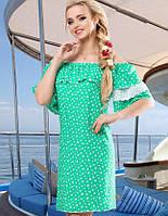 Женское летнее платье из штапеля (1471-1472-1473-1474-1475 svt)