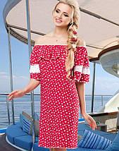 Женское летнее платье из штапеля (1471-1472-1473-1474-1475 svt), фото 3