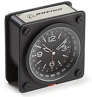 Часы Boeing Pilot World Time Alarm Clock 460060020450  (Black)