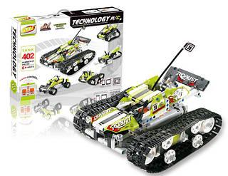 Конструктор р/у SDL Tank 5-в-1 (402 детали)
