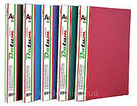 Папка с  10 файлами  A4 D1810 т.зеленая