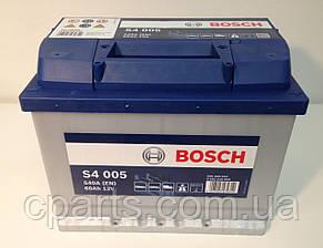 Аккумуляторная батарея (60 Ah-540 A) Renault Logan (Bosch 0092S40050)(высокое качество)