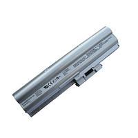 Батарея для ноутбука Sony VAIO VGN-Z Series (BPS12) 10.8v 5400mAh серая бу ИЗНОС 56%