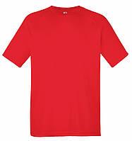 Мужская Спортивная Футболка Fruit of the loom Красный 61-390-40 S, фото 1