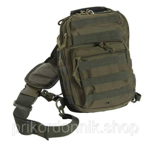 Однолямочные рюкзаки Mil-Tec в ассортименте.