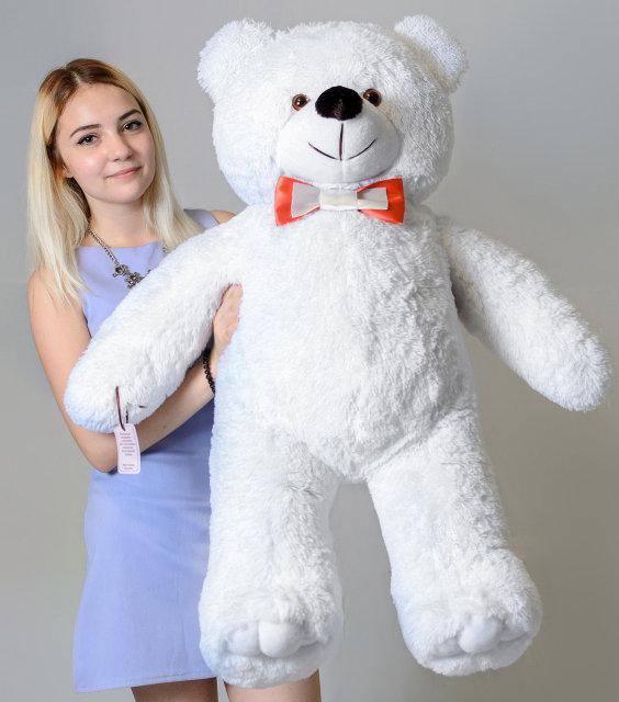 Плюшевий ведмедик Mister Medved Білий 110 см