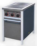 Плита профессиональная электрическая, эконом, 8.8 кВт, 2-конфорочная с духовкой, ПЕ-2Ш Ч АРМ-ЭКО