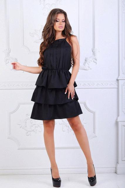 Платье женское короткое софт (К23462)