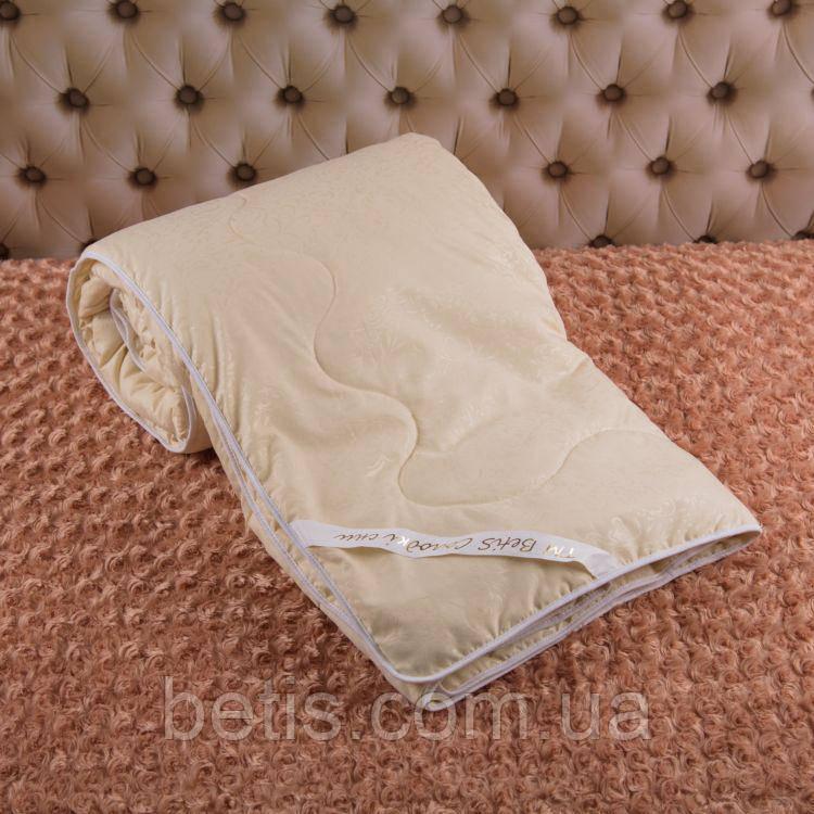 """Одеяло """"Комфорт 140*210"""" Зимнее Молочный Голубой"""