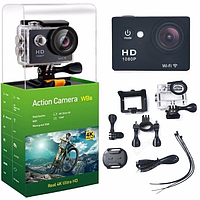 Action camera W9s / экшн-камера / Action camera HD с WiFi / 12Mp / 1080p