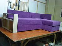 Угловой офис диван с полочками, фото 1