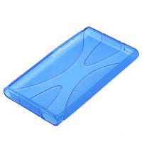 Чехол бампер TPU для Apple iPod Nano 7 (A1446) - Blue, фото 1