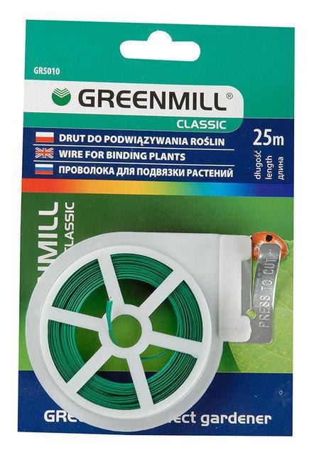Проволока для подвязки растений 25м Greenmill GR5010