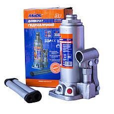 Домкрат гидравлический бутылочный 3т Miol 80-020 (194-372мм)