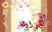 Купить 3D фотообои с цветами на стену : Красивые букеты на стену CN545