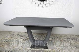 Стол обеденный модерн NL- Toronto (Торонто) 160/210*90 Графит, фото 3