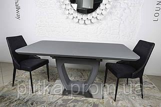 Стол обеденный модерн NL- Toronto (Торонто) 160/210*90 Графит, фото 2