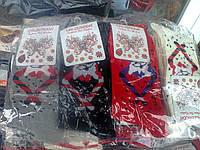 Носки женские Новогодние  Турция стрейч  (Ж.Е.Н.)