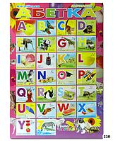 """Плакат """"Английский алфавит"""""""