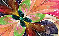 Купить с цветами 3D фотообои для стены : Симметрия цветов CN647