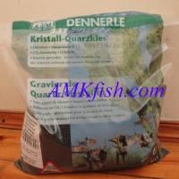 Dennerle Kristall-Quarzkies diamant-schwarz, кварцевый гравий черный, 5 кг