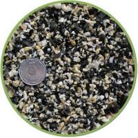 Nechay ZOO грунт черно-белый мелкий (базальт-мрамор) 2-5мм, 10кг
