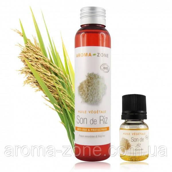 Растительное масло Рисовых отрубей (Oryza sativa)BIO,100 мл.