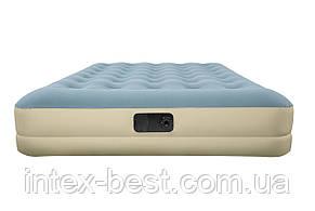 69003 BW, BestWay, Надувная кровать Refined Fortech, 203х152х33см, встроенный электронасос, фото 2