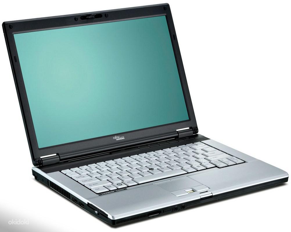 Fujitsu-Siemens Lifebook S7210 / 14.1'' / Intel Core 2 Duo T7250 (2 ядра по 2.0GHz) / 2GB DDR2 / HDD 120 ГБ / DVD±RW / Веб-камера